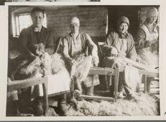 Talkoolihtaajia Haapakimola 1928