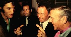 Elvis Presley, Frank Sinatra and Fred Astaire