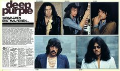 Deep Purple. Musik Express(Germany). 7/1973