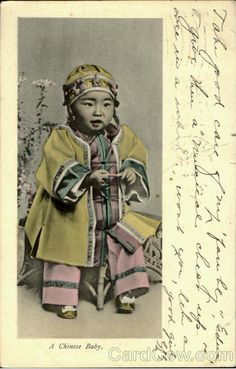 A Chinese Baby postcard 1910