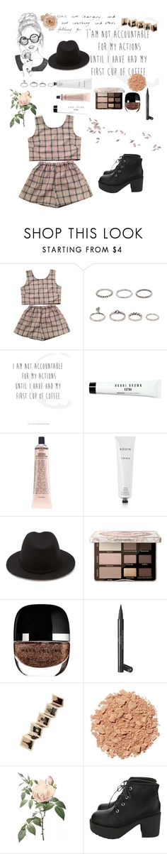 """I love you (saranghaeyo 사랑해요) in Korean"" by jewelsbeauty ❤ liked on Polyvore featuring Forever 21, WALL, Bobbi Brown Cosmetics, Grown Alchemist, Rodin, Too Faced Cosmetics, Marc Jacobs, Chanel, Rock 'N Rose and Illamasqua"