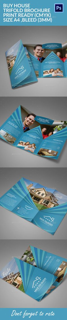 Buy House Trifold Brochure