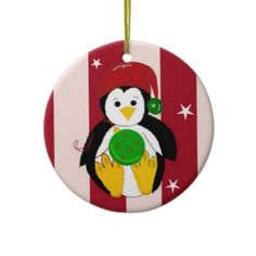 Baby penguin Christmas ornament...$13.45