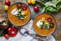... Pinterest | Creamy Tomato Basil Soup, Tomato Basil Soup and Soups