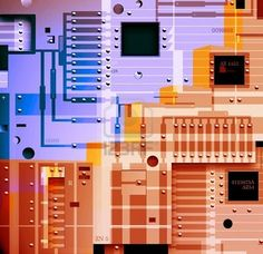 circuit board :: connection and pathways