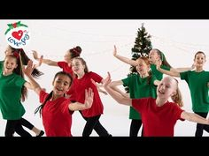 Best Christmas Dance Songs For Kids with Easy Choreography Moves Christmas Dance Crew
