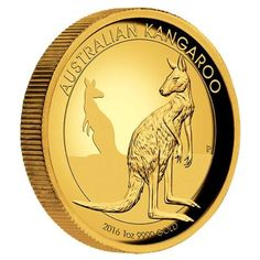 Australian Kangaroo 2016 1oz Gold Proof High Relief Coin | The Perth Mint