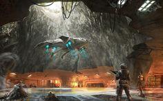 halo concept art | Cyrus Halo blog: Halo 3 wallpaper