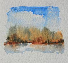 Summer colours watercolours debiriley.com