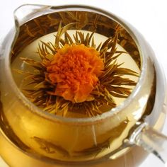 Floral Teas: These flowers open and bloom when hot water is poured onto - quite the showstopper!