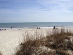 Beautiful day at the beach on Hilton Head today at Palmetto Dunes, sunny  63!