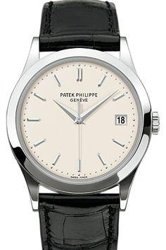 PATEK PHILIPPE  Calatrava white Gold Ref.5296