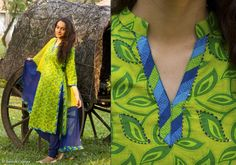 Kurtis for women - Kurta - Neon Plant By Suvasa - PC - 1216 - 1