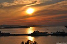 Sunset at Mykonos, Greece