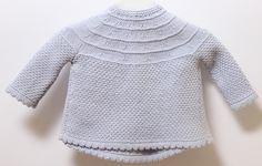 Ravelry: 19 / Baby Jacket pattern by Florence Merlin