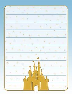 Journal Card - Cinderella Castle - Gold - lines - 3x4 photo pz_DIS_822_GoldCinderellaCastle_lines_3x4.jpg