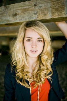 Katelyn Tarver. She's gorgeous.