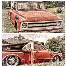 Chevy C10 stepside