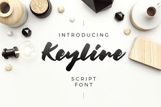 Keyline Script Font by kavoon on @creativemarket