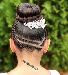 Shoulder Length Twist Braids - 50 Thrilling Twist Braid Styles To Try This Season - The Trending Hairstyle Cute Little Girl Hairstyles, Girls Natural Hairstyles, Flower Girl Hairstyles, Ballet Hairstyles, Braided Ponytail Hairstyles, Medium Hair Styles, Natural Hair Styles, Long Hair Styles, Girl Hair Dos