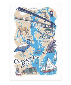 Love this Chesapeake Bay Kitchen Towel on #zulily! #zulilyfinds
