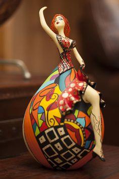 bailarina de cabaça - Pesquisa Google