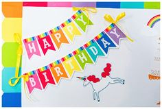 Hello Sunshine - SchoolgirlStyle www.schoolgirlstyle.com  rainbow classroom decor, unicorn classroom theme, classroom organization, teacher desk, bulletin boards, rainbow decor, birthday set Love Rainbow, Rainbow Theme, Rainbow Colors, Teacher Desk Organization, Birthday Bulletin Boards, Preschool Decor, Rainbow Palette, Toddler Classroom, Birthday Tags