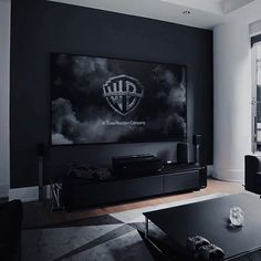 The perfect living room. Interior Design Living Room, Living Room Designs, Living Room Decor, Men's Living Rooms, Black Living Rooms, Mens Room Decor, Black Rooms, Dining Room, Home Decor