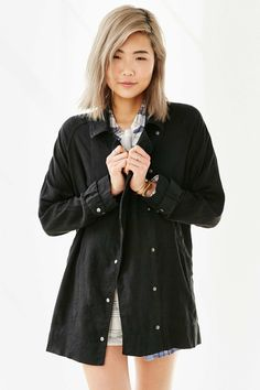 BDG Drapey Trench Coat available for $39.99 (was $99)