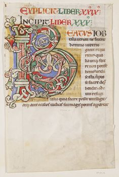 Manuscript (France (illuminated), 1100), V&A Collection