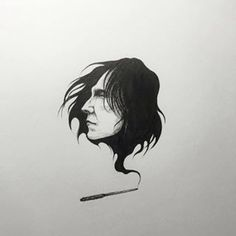 """And Harry Potter fans across social media have been sharing their artwork in homage to the character. 