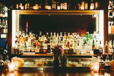 This speakeasy is located below Schapiro's, a New American eatery with a Jewish twist. You have to go down a set of stairs to a basement to get to the bar, but once you're inside you'll see this is the perfect date spot. Intimate, provocative, and dark. Nitecap offers over 20 pages of drinks - try the Moon Suit or the Tartan Swizzle - and relax while reading their funny guides strewn about the bar.  Nitecap, 120 Rivington St