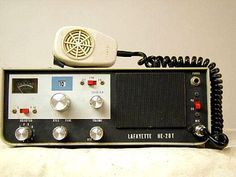 Lafayette HE-20T Citizens Band Radio, Citizen Band, Televisions, Ham Radio, Marshall Speaker, Walkie Talkie, Radios, Technology, Tv