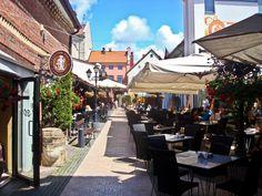 Lithuania, Klaipeda, Friedrich passage