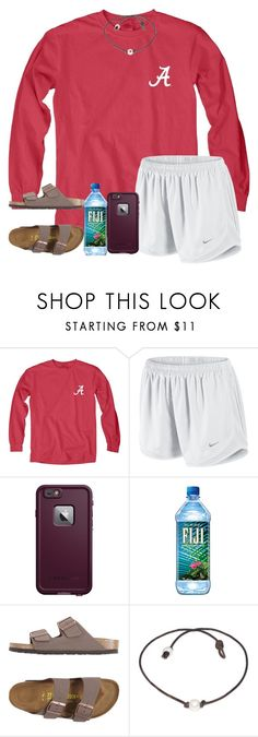 """""""i <3 my pupper (:"""" by arieannahicks ❤ liked on Polyvore featuring Blue 84, NIKE, LifeProof and Birkenstock"""