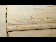 Patina-effekt genom torrborstning - Dry-brushing technique, creating depth and patina - YouTube