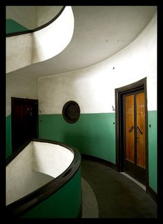 Art Deco building, Horn Of Africa, Asmara, Eritrea is part of architecture - Eric Lafforgue www ericlafforgue com Bauhaus, Interior Architecture, Interior And Exterior, Interior Design, Casa Art Deco, Interiores Art Deco, Art Nouveau, Deco Restaurant, Streamline Moderne