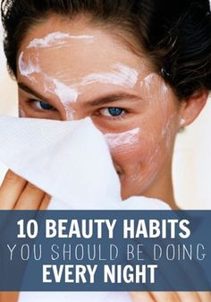 These beauty habits are great!