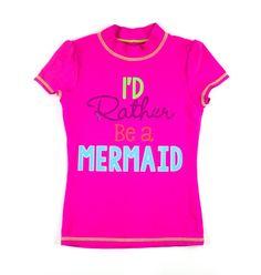 pink rashguard, Children's Place swimwear, Children's Place rashguard, rashguard for girls, swim top