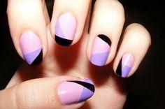 Nail art   design 3 | Nail art designs for beginners | Using artisan color acrylic nail powder part | Nail art 2013   summer | Youtube nail art channels