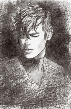 I was messing with charcoal and it turned into Shiro, so Shiro Week day 2: Champion/Leadership