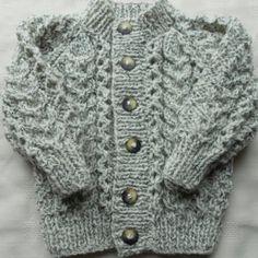 Baby boy sweater found in Etsy
