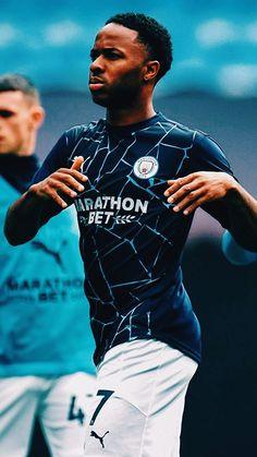 Sterling Manchester City, Zen, Raheem Sterling, Football Wallpaper, European Football, Football Soccer, Fifa, Soccer Stuff, Sports