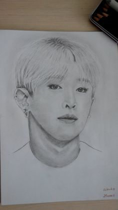 Wonho (Monsta X) by Livvais.deviantart.com on @DeviantArt