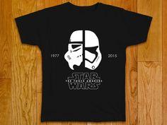 New Star Wars t-shirt Stormtrooper Episode VII: by GeeksDragons