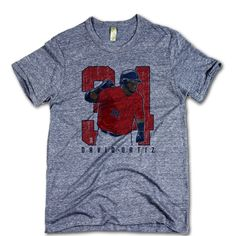 David Ortiz Officially Licensed MLBPA Boston T-Shirt Unisex S-2XL David Ortiz Clutch R