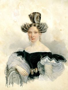 .Mantilla style comb of polished and beautifully market tortoiseshell 1830s