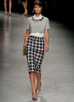 Chic office look straight from the runway. Brought to you by Shoplet.com - everything for your business.