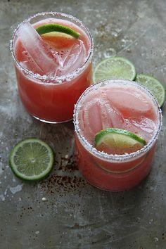 Watermelon Margaritas by Heather Christo, via Flickr