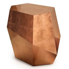 Three Rocks Coffee Table in Copper Leaf at Urban Avenue | http://urbanavenue.co.uk